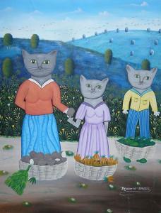 Haitian painting by Jean Veny Bezail