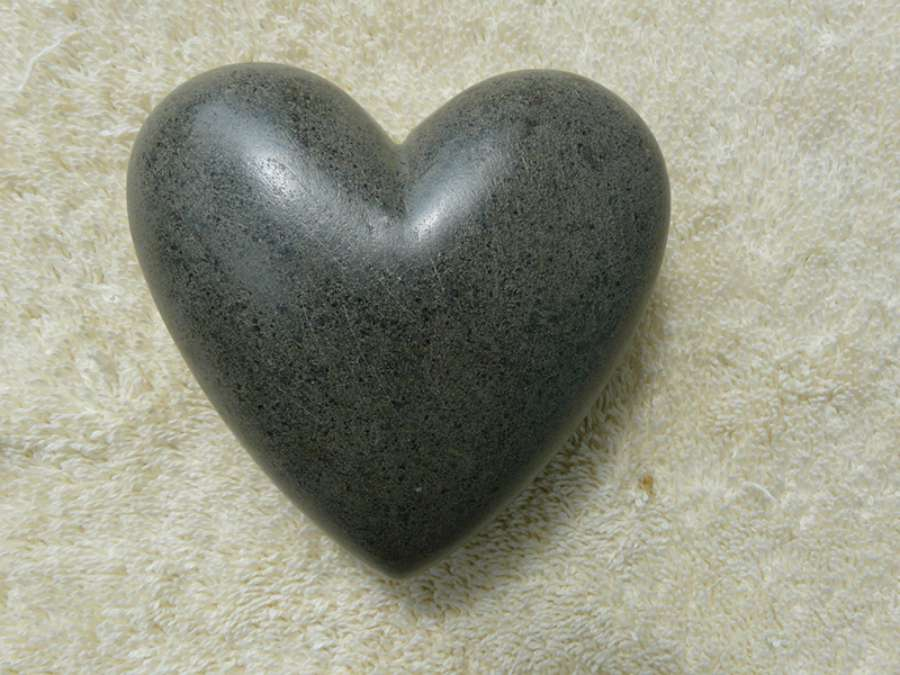 Heart: Large Gray