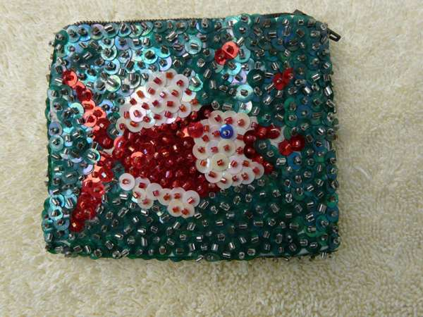 Coin Purse: Fish in Green Water